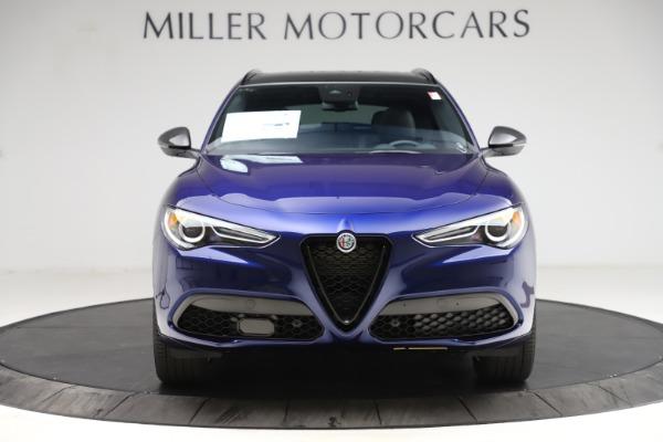 New 2021 Alfa Romeo Stelvio Ti Sport Q4 for sale $56,750 at Alfa Romeo of Greenwich in Greenwich CT 06830 12