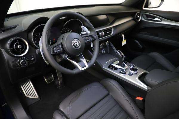 New 2021 Alfa Romeo Stelvio Ti Sport Q4 for sale $56,750 at Alfa Romeo of Greenwich in Greenwich CT 06830 13