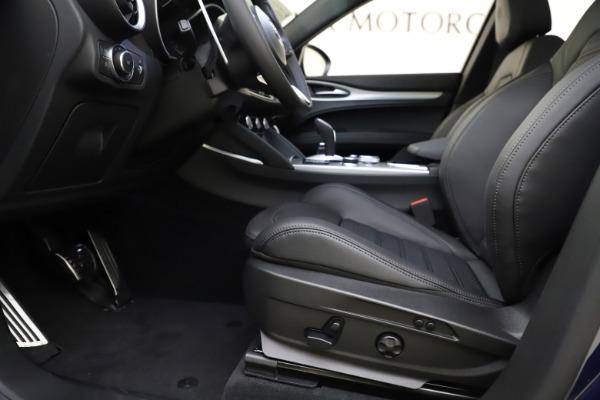 New 2021 Alfa Romeo Stelvio Ti Sport Q4 for sale $56,750 at Alfa Romeo of Greenwich in Greenwich CT 06830 14