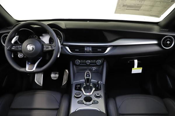 New 2021 Alfa Romeo Stelvio Ti Sport Q4 for sale $56,750 at Alfa Romeo of Greenwich in Greenwich CT 06830 16