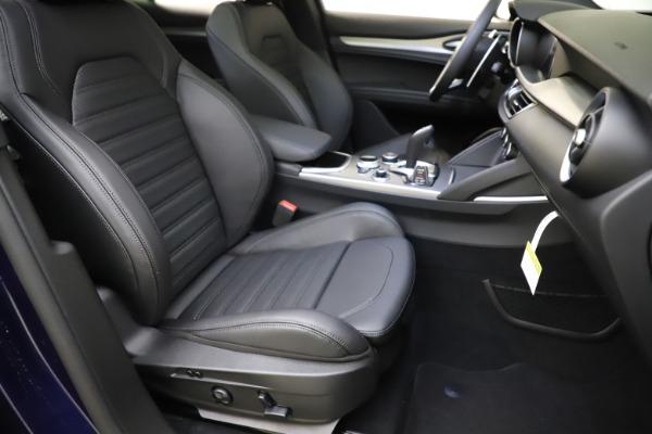 New 2021 Alfa Romeo Stelvio Ti Sport Q4 for sale $56,750 at Alfa Romeo of Greenwich in Greenwich CT 06830 24