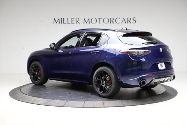 New 2021 Alfa Romeo Stelvio Ti Sport Q4 for sale $56,750 at Alfa Romeo of Greenwich in Greenwich CT 06830 4