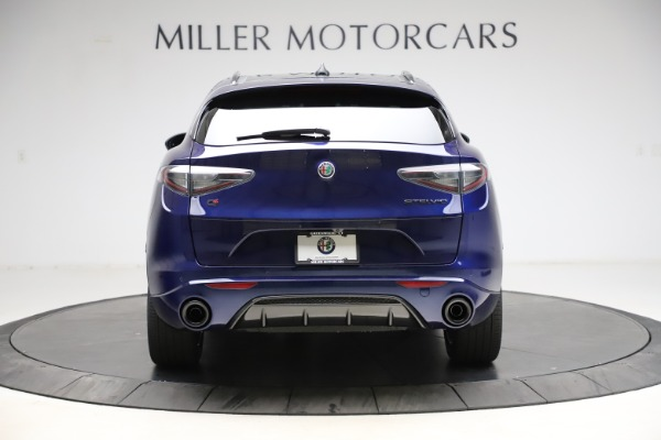New 2021 Alfa Romeo Stelvio Ti Sport Q4 for sale $56,750 at Alfa Romeo of Greenwich in Greenwich CT 06830 6