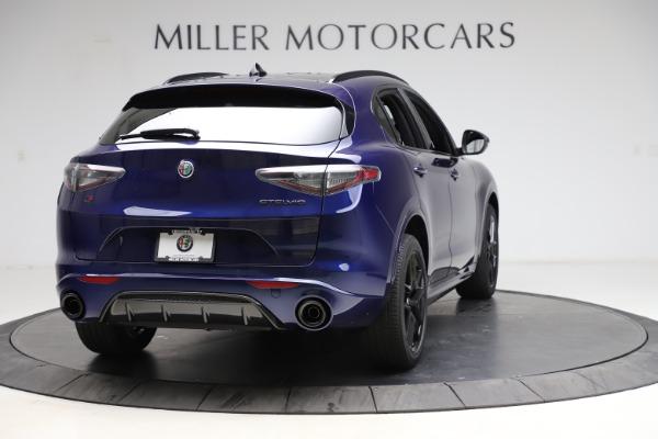 New 2021 Alfa Romeo Stelvio Ti Sport Q4 for sale $56,750 at Alfa Romeo of Greenwich in Greenwich CT 06830 7