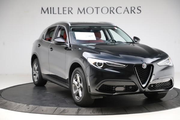 New 2021 Alfa Romeo Stelvio Q4 for sale $48,645 at Alfa Romeo of Greenwich in Greenwich CT 06830 10