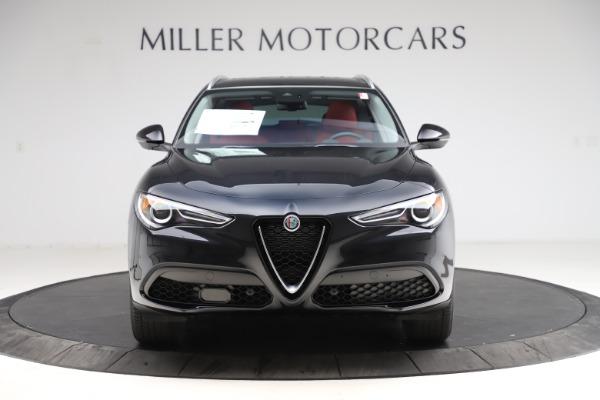 New 2021 Alfa Romeo Stelvio Q4 for sale $48,645 at Alfa Romeo of Greenwich in Greenwich CT 06830 11