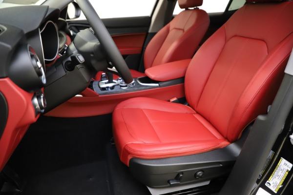 New 2021 Alfa Romeo Stelvio Q4 for sale $48,645 at Alfa Romeo of Greenwich in Greenwich CT 06830 14