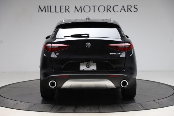New 2021 Alfa Romeo Stelvio Q4 for sale $48,645 at Alfa Romeo of Greenwich in Greenwich CT 06830 6