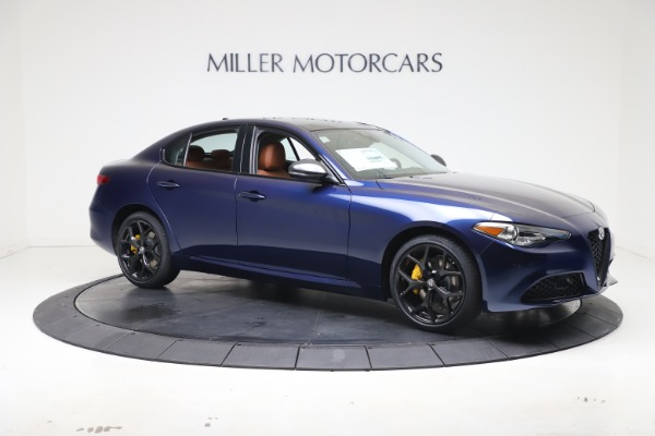 New 2021 Alfa Romeo Giulia Ti Q4 for sale $51,100 at Alfa Romeo of Greenwich in Greenwich CT 06830 10