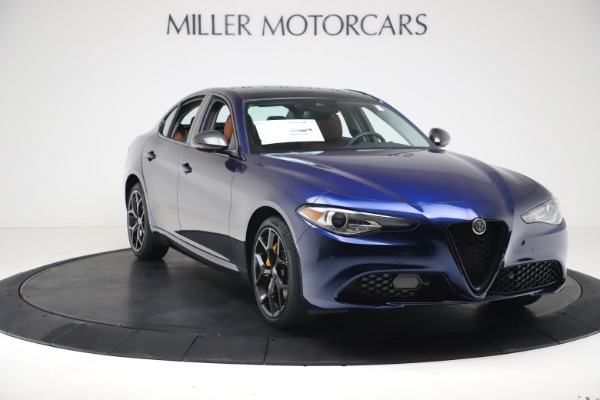 New 2021 Alfa Romeo Giulia Ti Q4 for sale $51,100 at Alfa Romeo of Greenwich in Greenwich CT 06830 11
