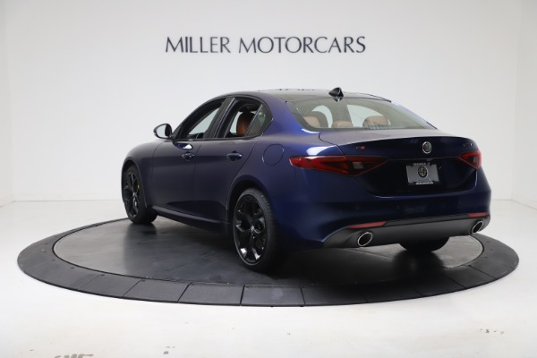 New 2021 Alfa Romeo Giulia Ti Q4 for sale $51,100 at Alfa Romeo of Greenwich in Greenwich CT 06830 5