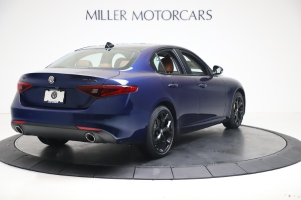New 2021 Alfa Romeo Giulia Ti Q4 for sale $51,100 at Alfa Romeo of Greenwich in Greenwich CT 06830 7