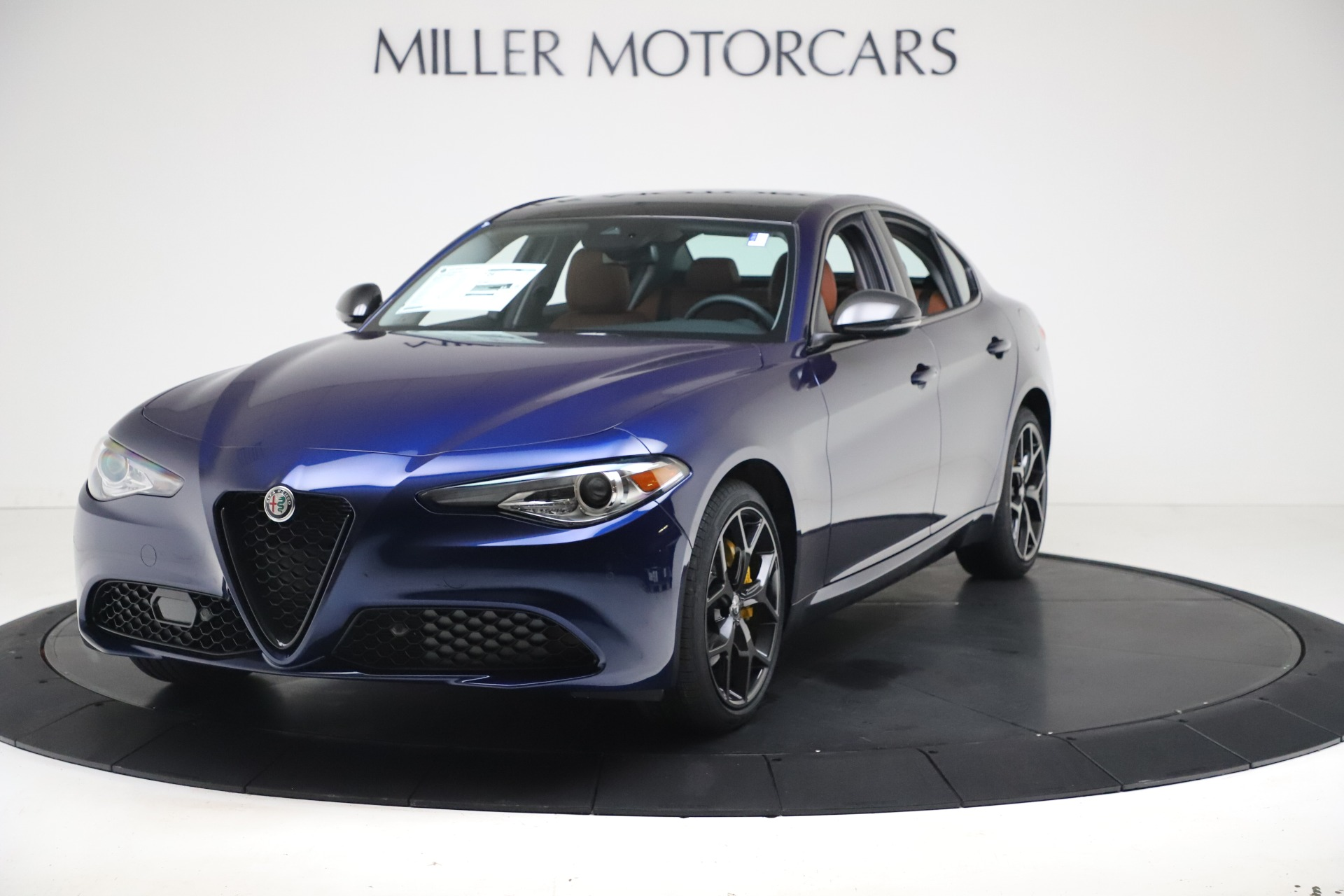 New 2021 Alfa Romeo Giulia Ti Q4 for sale $51,100 at Alfa Romeo of Greenwich in Greenwich CT 06830 1