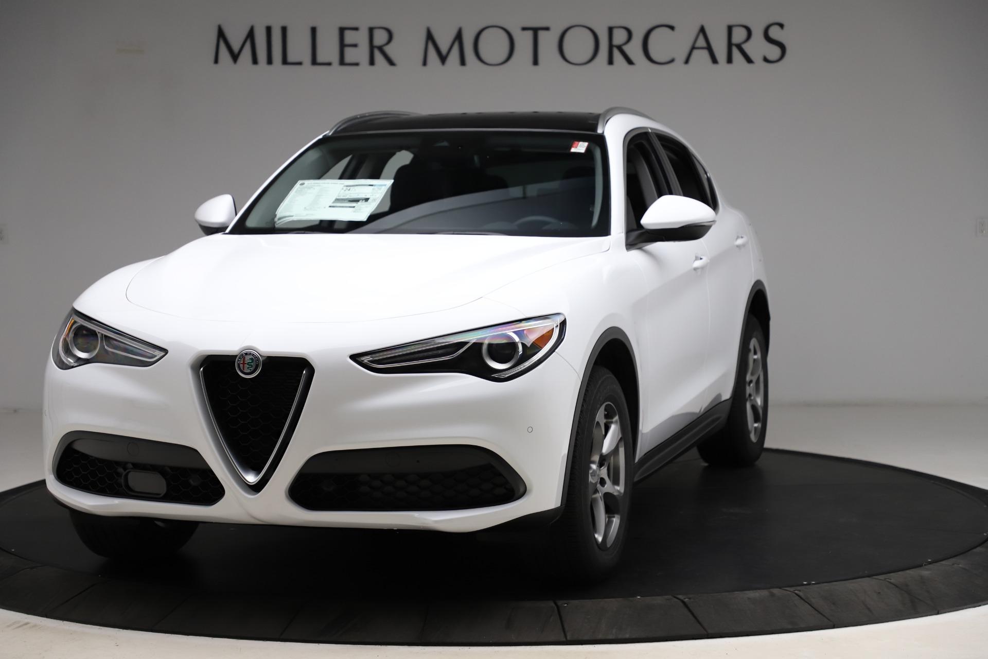 New 2021 Alfa Romeo Stelvio Q4 for sale $47,985 at Alfa Romeo of Greenwich in Greenwich CT 06830 1