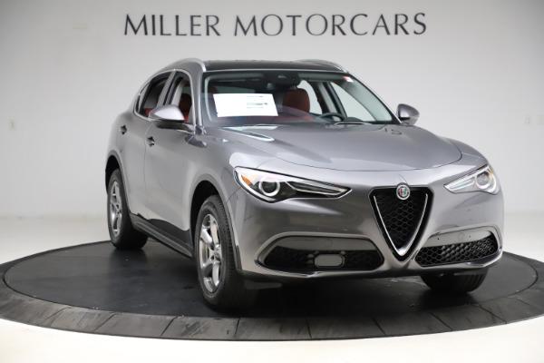 New 2021 Alfa Romeo Stelvio Q4 for sale $48,050 at Alfa Romeo of Greenwich in Greenwich CT 06830 11
