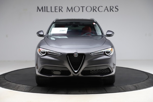 New 2021 Alfa Romeo Stelvio Q4 for sale $48,050 at Alfa Romeo of Greenwich in Greenwich CT 06830 12