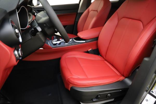 New 2021 Alfa Romeo Stelvio Q4 for sale $48,050 at Alfa Romeo of Greenwich in Greenwich CT 06830 15