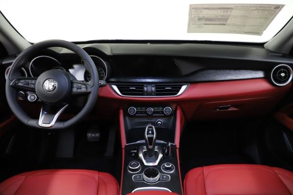 New 2021 Alfa Romeo Stelvio Q4 for sale $48,050 at Alfa Romeo of Greenwich in Greenwich CT 06830 16