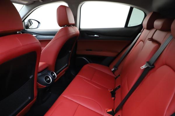 New 2021 Alfa Romeo Stelvio Q4 for sale $48,050 at Alfa Romeo of Greenwich in Greenwich CT 06830 19