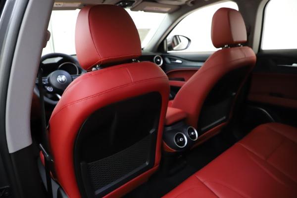 New 2021 Alfa Romeo Stelvio Q4 for sale $48,050 at Alfa Romeo of Greenwich in Greenwich CT 06830 20
