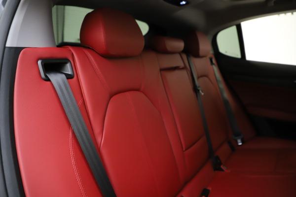New 2021 Alfa Romeo Stelvio Q4 for sale $48,050 at Alfa Romeo of Greenwich in Greenwich CT 06830 26