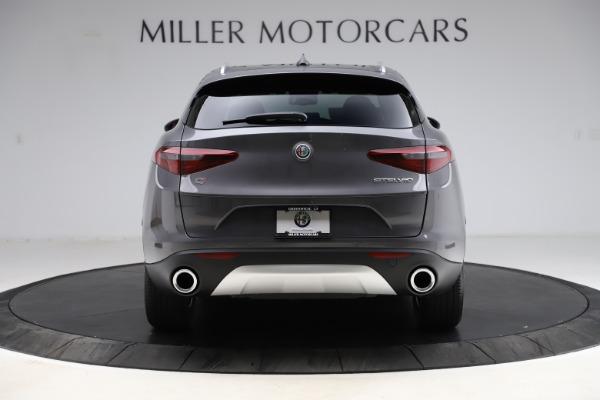 New 2021 Alfa Romeo Stelvio Q4 for sale $48,050 at Alfa Romeo of Greenwich in Greenwich CT 06830 6