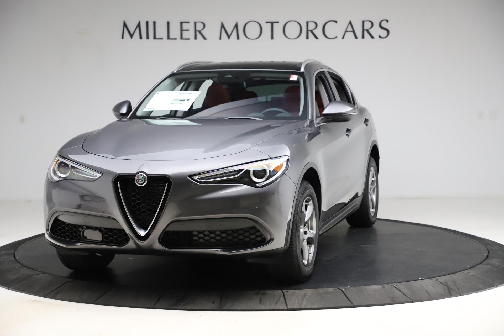 New 2021 Alfa Romeo Stelvio Q4 for sale $48,050 at Alfa Romeo of Greenwich in Greenwich CT 06830 1