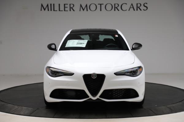 New 2021 Alfa Romeo Giulia Ti Sport for sale $52,940 at Alfa Romeo of Greenwich in Greenwich CT 06830 12