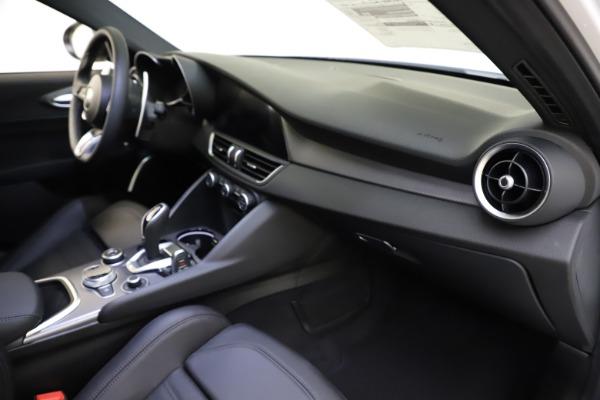 New 2021 Alfa Romeo Giulia Ti Sport for sale $52,940 at Alfa Romeo of Greenwich in Greenwich CT 06830 22