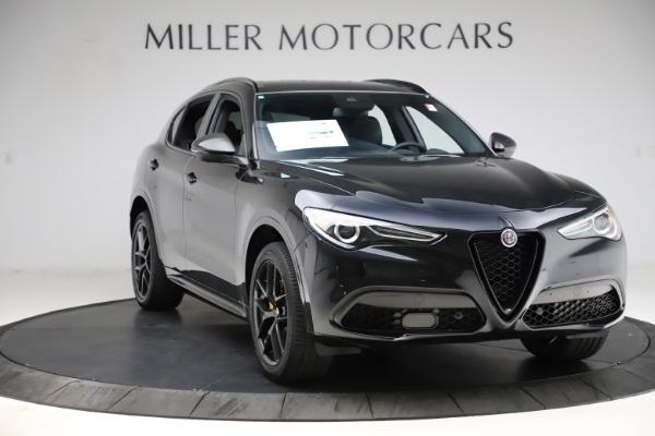 New 2021 Alfa Romeo Stelvio Ti Sport Q4 for sale $56,450 at Alfa Romeo of Greenwich in Greenwich CT 06830 11