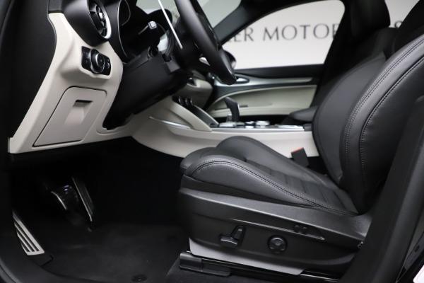 New 2021 Alfa Romeo Stelvio Ti Sport Q4 for sale $56,450 at Alfa Romeo of Greenwich in Greenwich CT 06830 14