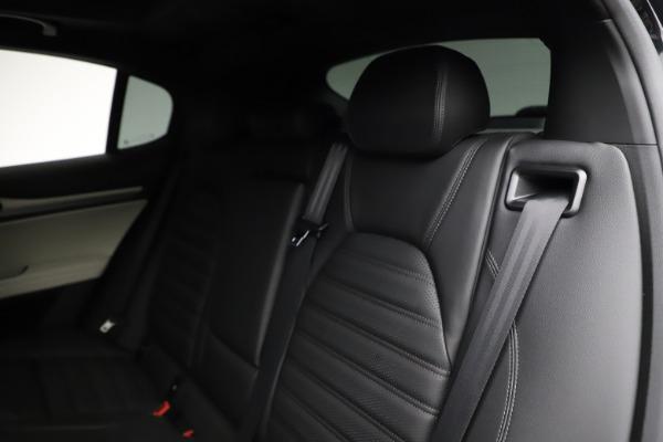 New 2021 Alfa Romeo Stelvio Ti Sport Q4 for sale $56,450 at Alfa Romeo of Greenwich in Greenwich CT 06830 18