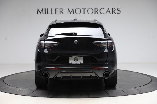 New 2021 Alfa Romeo Stelvio Ti Sport Q4 for sale $56,450 at Alfa Romeo of Greenwich in Greenwich CT 06830 6
