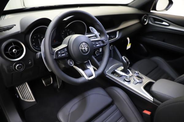 New 2021 Alfa Romeo Stelvio Ti Sport Q4 for sale $56,450 at Alfa Romeo of Greenwich in Greenwich CT 06830 13