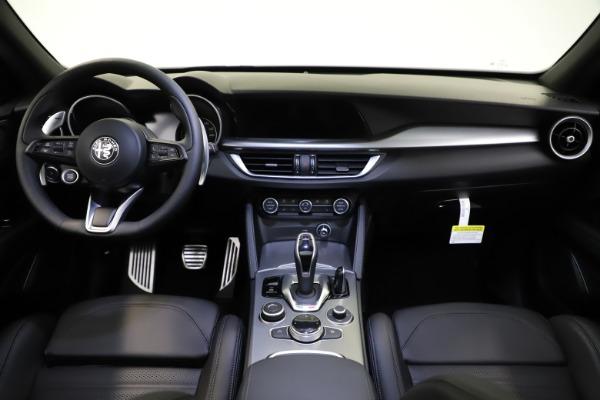 New 2021 Alfa Romeo Stelvio Ti Sport Q4 for sale $56,450 at Alfa Romeo of Greenwich in Greenwich CT 06830 16