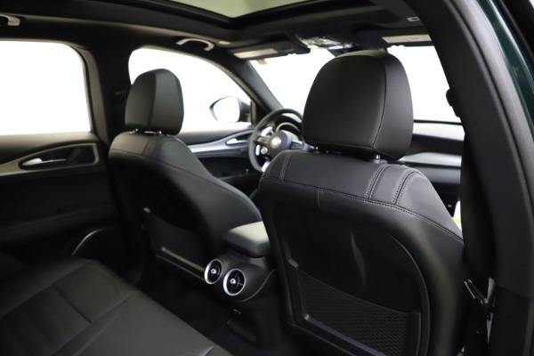 New 2021 Alfa Romeo Stelvio Ti Sport Q4 for sale $56,450 at Alfa Romeo of Greenwich in Greenwich CT 06830 28