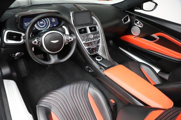 Used 2019 Aston Martin DB11 Volante for sale $209,990 at Alfa Romeo of Greenwich in Greenwich CT 06830 13