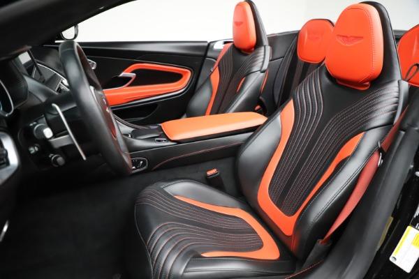 Used 2019 Aston Martin DB11 Volante for sale $209,990 at Alfa Romeo of Greenwich in Greenwich CT 06830 15