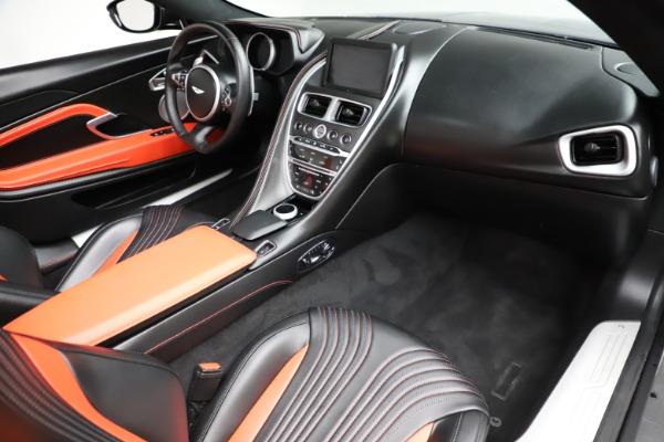 Used 2019 Aston Martin DB11 Volante for sale $209,990 at Alfa Romeo of Greenwich in Greenwich CT 06830 20