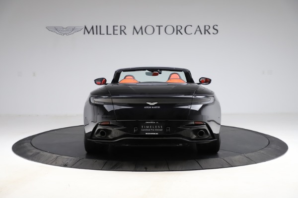 Used 2019 Aston Martin DB11 Volante for sale $209,990 at Alfa Romeo of Greenwich in Greenwich CT 06830 5
