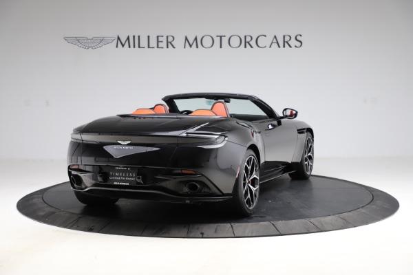 Used 2019 Aston Martin DB11 Volante for sale $209,990 at Alfa Romeo of Greenwich in Greenwich CT 06830 6