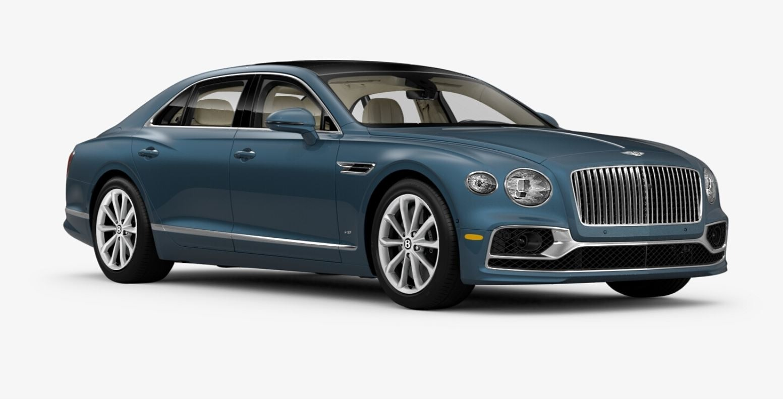 New 2021 Bentley Flying Spur V8 for sale $226,725 at Alfa Romeo of Greenwich in Greenwich CT 06830 1