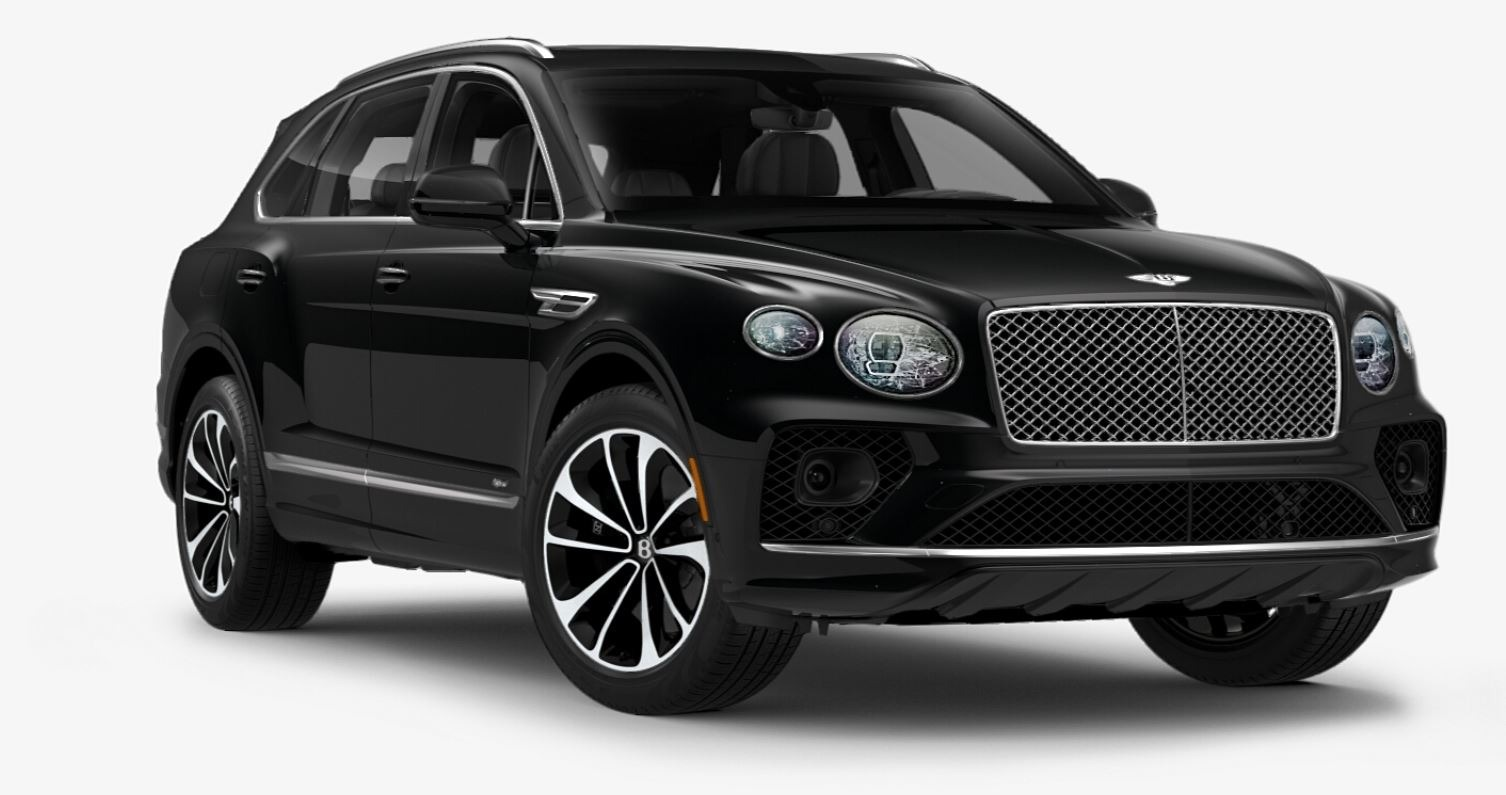 New 2021 Bentley Bentayga Hybrid V6 for sale $204,055 at Alfa Romeo of Greenwich in Greenwich CT 06830 1