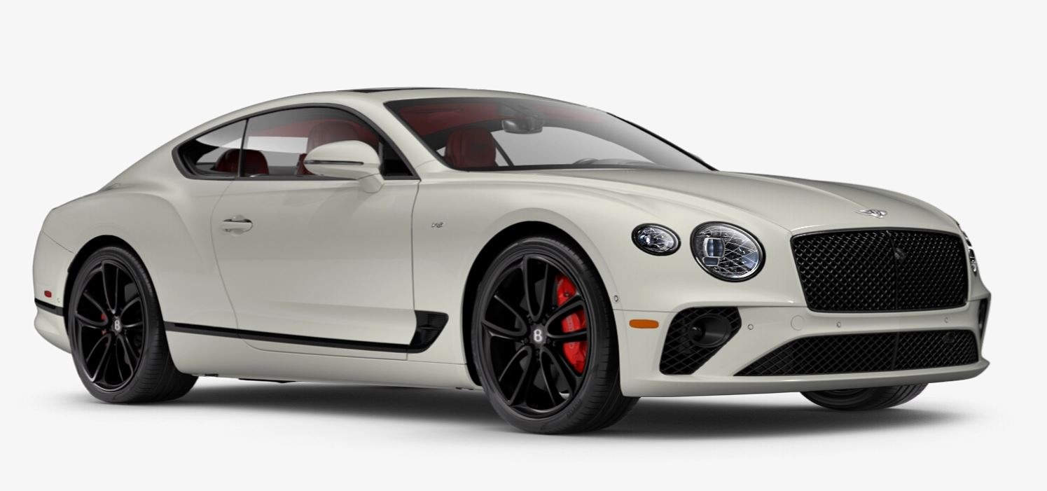 New 2021 Bentley Continental GT V8 for sale $270,170 at Alfa Romeo of Greenwich in Greenwich CT 06830 1