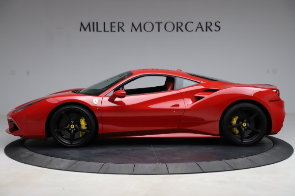 Used 2018 Ferrari 488 GTB for sale Sold at Alfa Romeo of Greenwich in Greenwich CT 06830 3