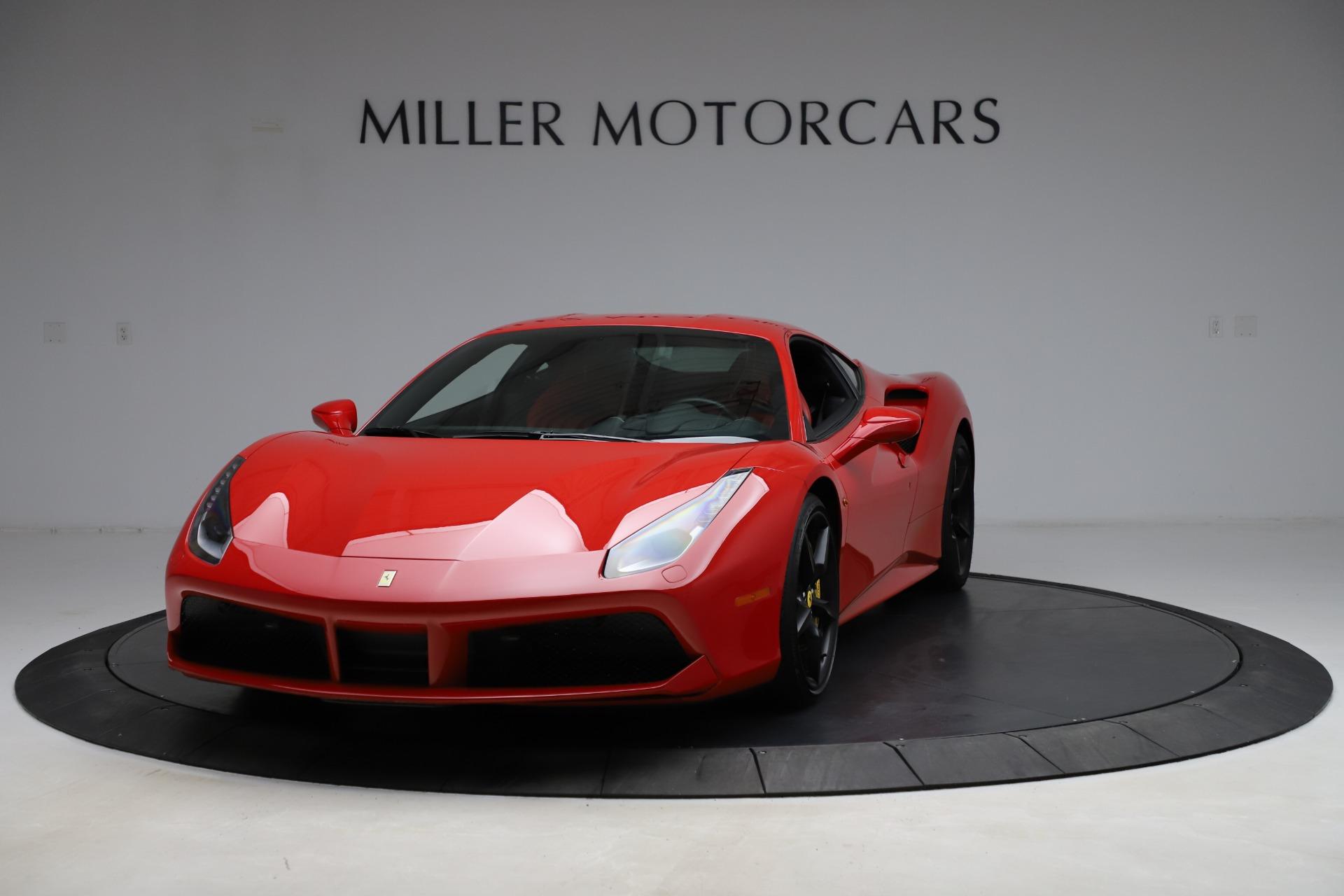 Used 2018 Ferrari 488 GTB for sale Sold at Alfa Romeo of Greenwich in Greenwich CT 06830 1