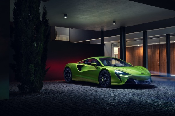 New 2021 McLaren Artura for sale Call for price at Alfa Romeo of Greenwich in Greenwich CT 06830 2