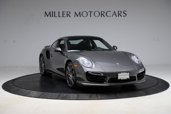 Used 2015 Porsche 911 Turbo for sale $109,900 at Alfa Romeo of Greenwich in Greenwich CT 06830 11