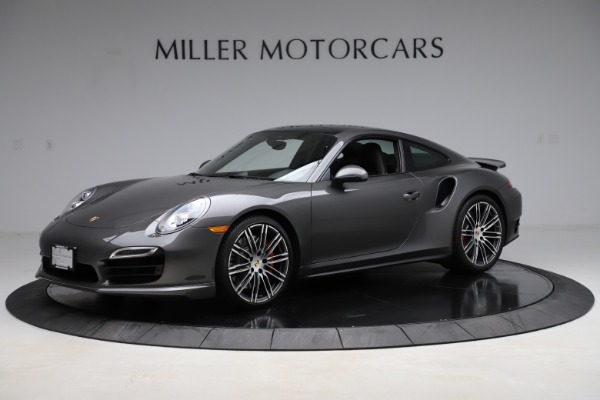Used 2015 Porsche 911 Turbo for sale $109,900 at Alfa Romeo of Greenwich in Greenwich CT 06830 2