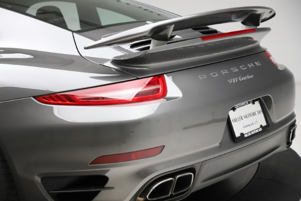 Used 2015 Porsche 911 Turbo for sale $109,900 at Alfa Romeo of Greenwich in Greenwich CT 06830 27